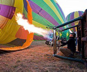 balloon aloft heat air