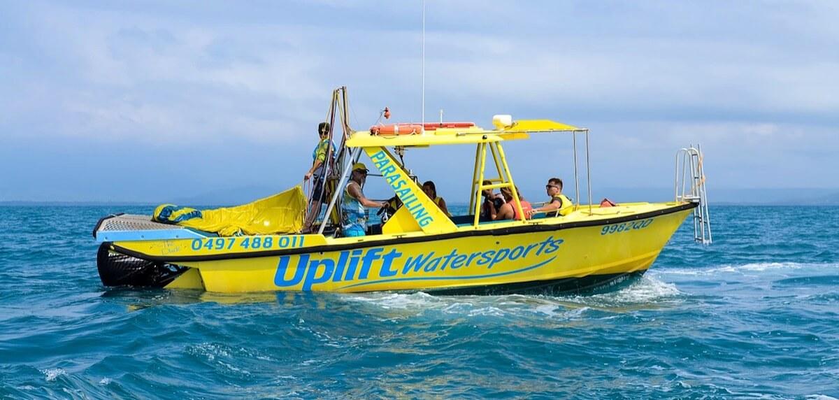 uplift watersports boat